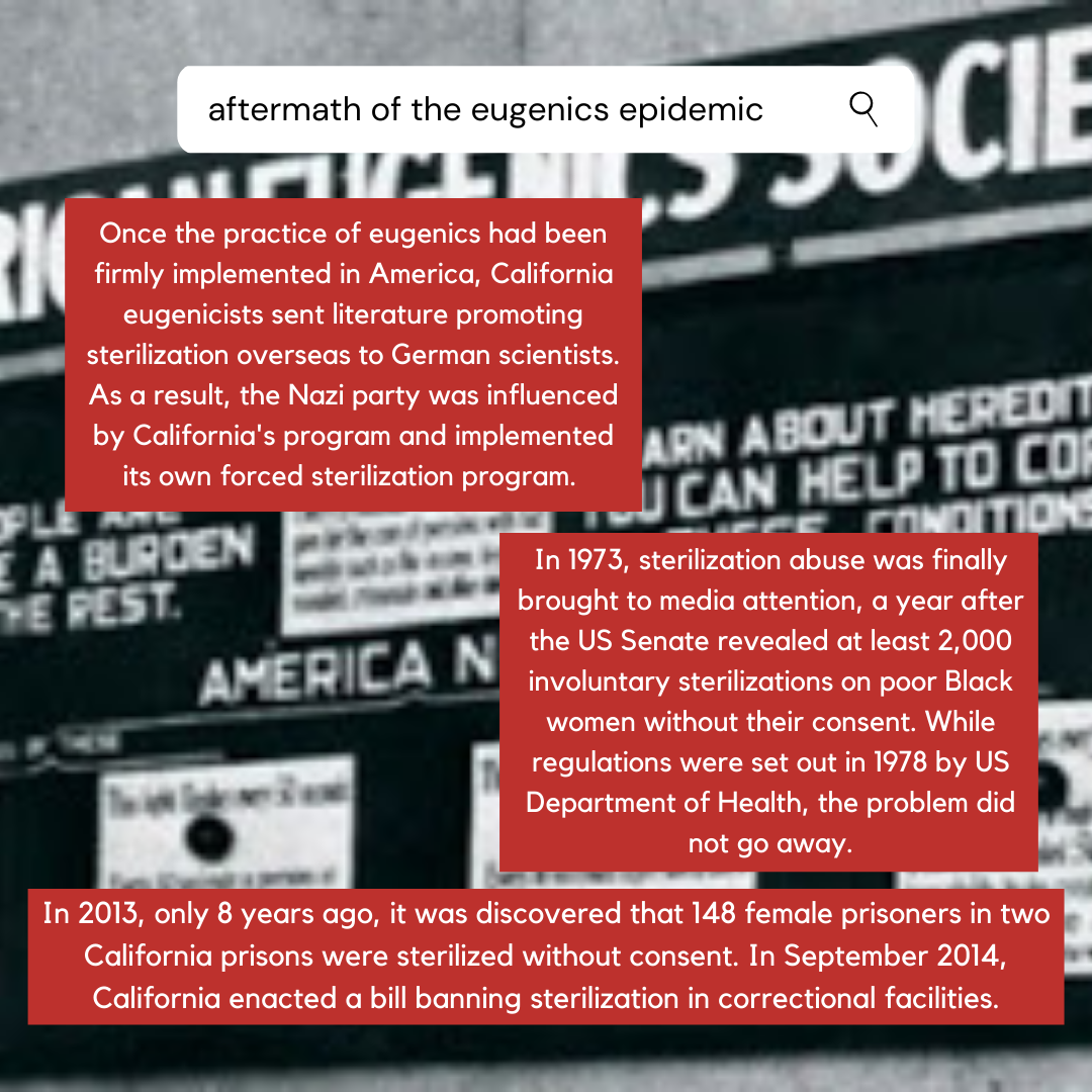 aftermath of the eugenics epidemic