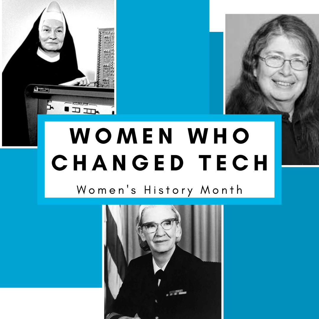 WOMEN in tech history